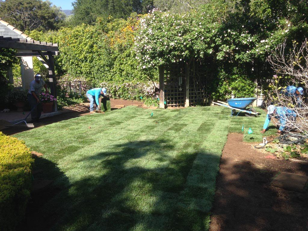 Sods landscaping | Landscapers Santa Barbara