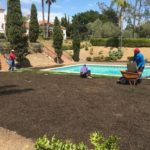 Sods Installation in Montecito-SB Evolution Landscape