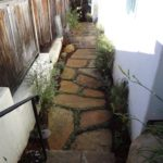 Flagstone Pathway Installation and landscaping-SB Evolution Landscape