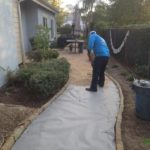 Pathway Gravel Installation-SB Evolution Landscape