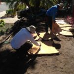 Flagstone Installation in Santa Barbara-SB Evolution Landscape