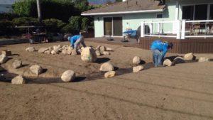 Dry River Bed landscape Designed Project-sbevolutionlandscape