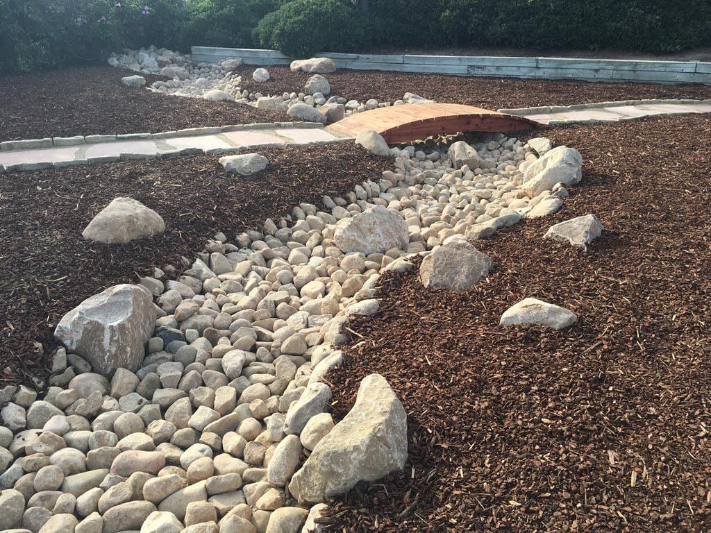 Dry River Bed landscape Designed Finish Project-sbevolutionlandscape