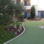 Landscaping in Courtyard Marriot-sbevolutionlandscape