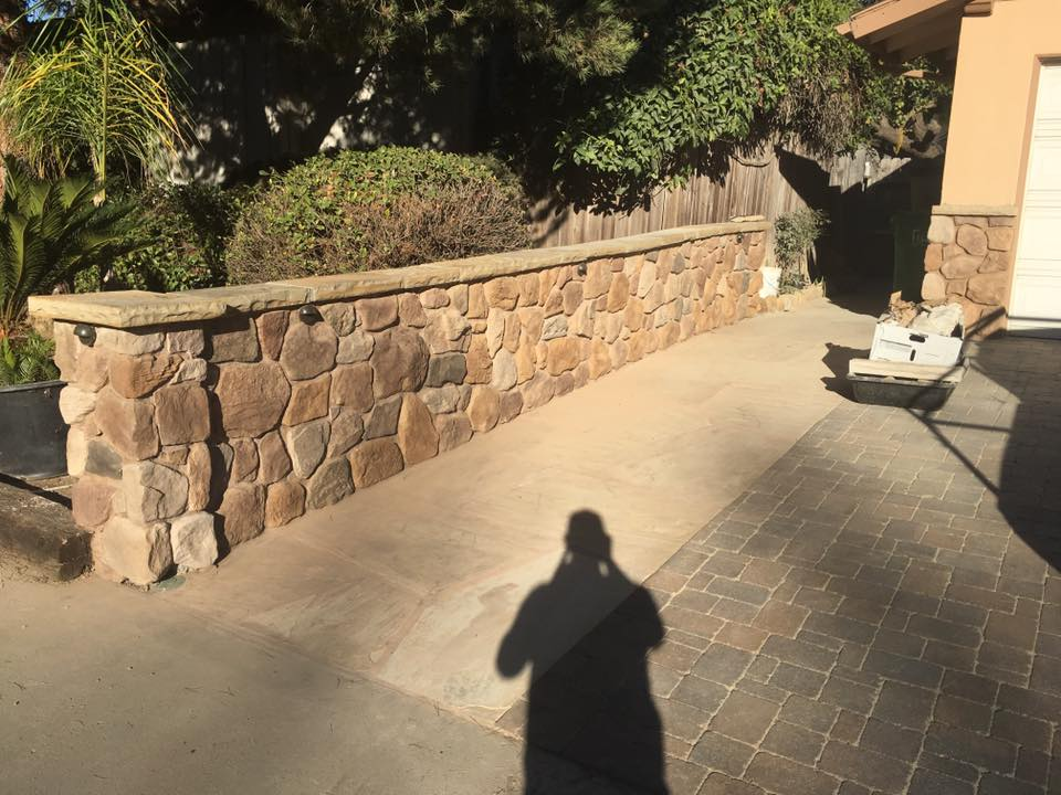 Landscape Walls by SBevolution Landscapers Santa Barbara